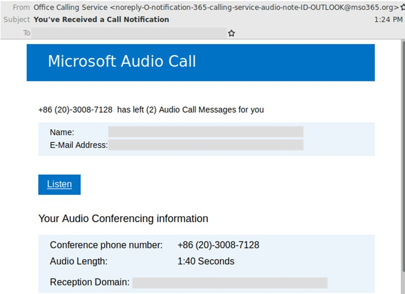 Microsoft Audio Call 04.07.19